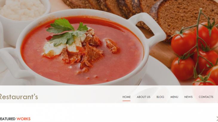 restoran-ve-cafeler-icin-ucretsiz-site-temasi