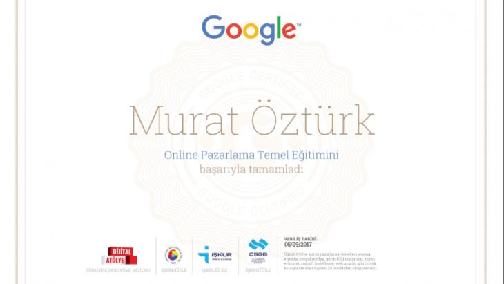 google-dan-yeni-sertifikamizi-aldik