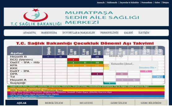 Muratpaşa Sedir Aile Sağlığı Merkezi